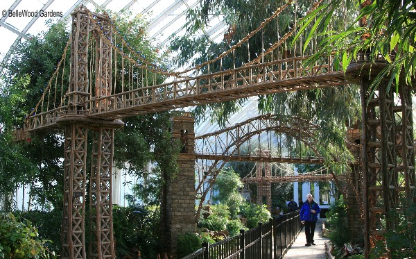 Bellewood gardens diary for New york botanical gardens train show